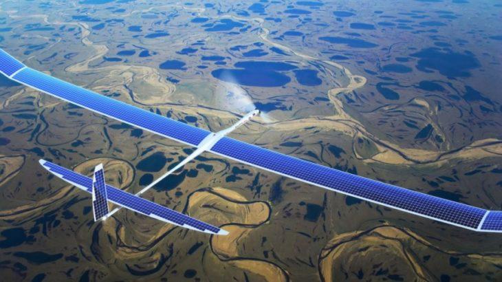Facebook kalon nga interneti përmes dronëve në internet satelitor