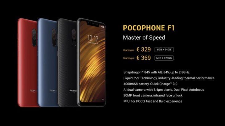 Xiaomi PocoPhone F1 vjen në Evropë për 329 euro