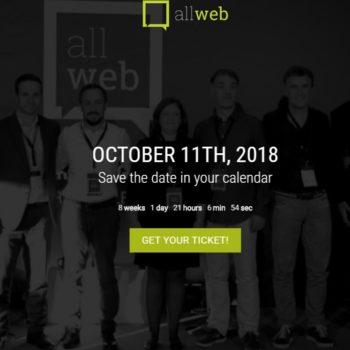 Allweb, konferenca e marketingut dixhital dhe uebit mbahet për vitin e tretë radhazi