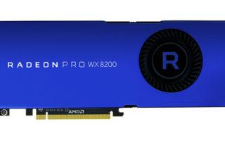 AMD prezantoi kartën grafike buxhetore profesionale WX 8200