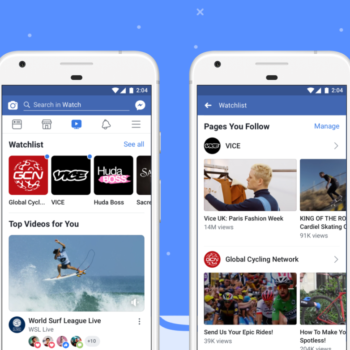 Rivali i ri i Youtube, Facebook Watch debuton globalisht