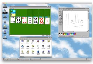 Windows 95 tashmë një aplikacion që mund ta provoni nga kompjuteri juaj