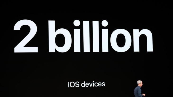Apple ka shitur 2 miliardë pajisje iOS