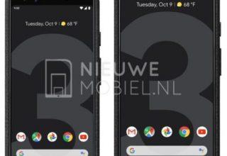 Publikohen foto të reja të Pixel 3 dhe 3 XL