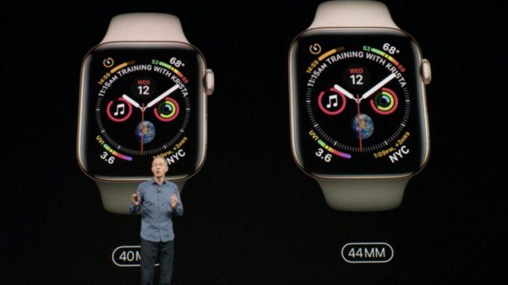 Seria 4 Apple Watch sjell një ekran më të madh dhe një skaner EKG të integruar