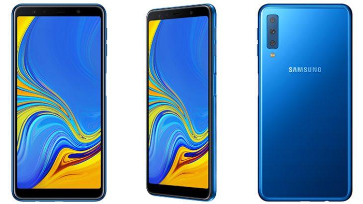 Samsung prezanton telefonin Galaxy A7 me tre kamera