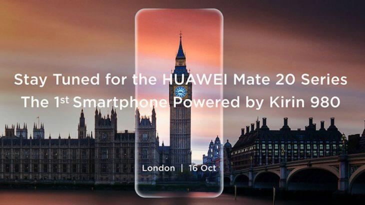 Huawei konfirmon datën e debutimit të flagshipit Mate 20