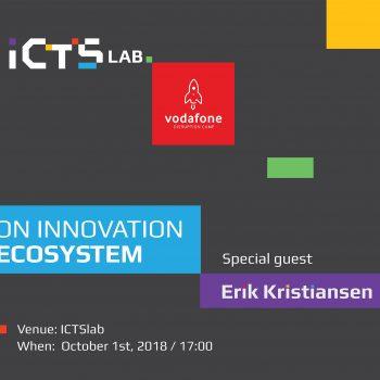 ICTSmedia dhe Vodafone Disruption Camp organizojnë tryezën e rrumbullakët me të ftuar specialistin e inovacionit Erik Kristiansen