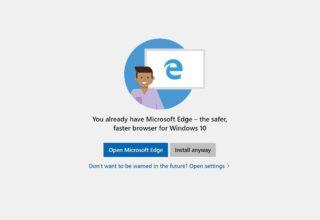 Microsoft tërheq paralajmërimet për përdoruesit që instalojnë Chrome dhe Firefox në Windows 10