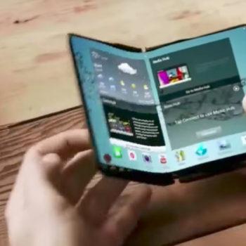 Telefoni i shumëpritur me palosje i Samsung pranë debutimit