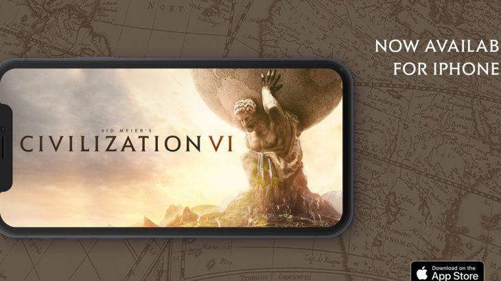 Civilization 6 debuton për iPhone