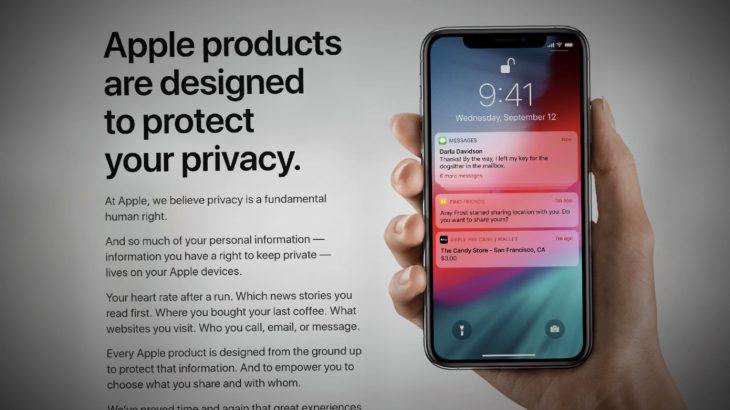 Apple publikon një faqe privatësie për të parandaluar një skenar të ngjashëm me skandalet e Google dhe Facebook