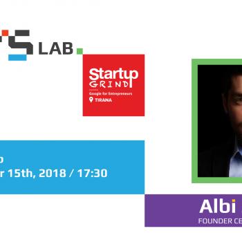 Më 15 Tetor në Startup Grind vjen Mobiliteti i Vitit në edicionin e 5-të të ICT Awards Albi Zhulali
