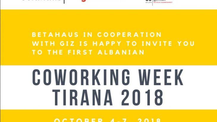 Betahaus mbledh në Tiranë ekspertë Evropian të startupeve në Coworking Week më 4-7 Tetor