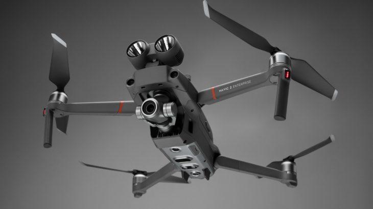 DJI Mavic 2 Enterprise është një dron për operacionet kërkim-shpëtim