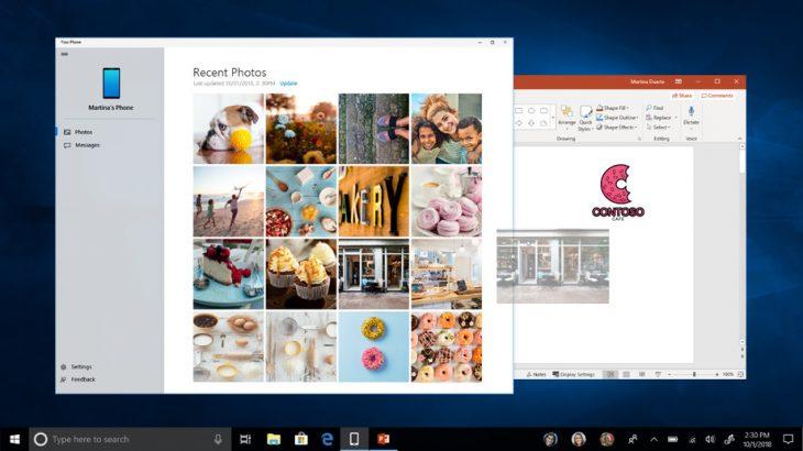 Me Microsoft Your Phone mund të përdorni aplikacionet Android nga Windows 10