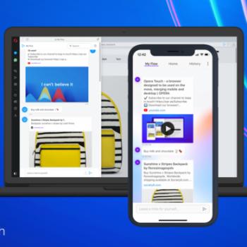 Opera lançoi shfletuesin Touch për iPhone