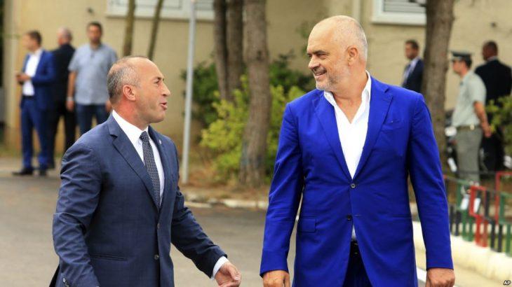 Haradinaj e Rama zotohen për heqjen romingut me Shqipërisë dhe Kosovës