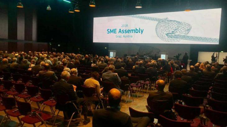 Më 19-21 Nëntor u mbajt në Graz të Austrisë Asambleja e SME-ve, merr pjesë një delegacion nga Shqipëria