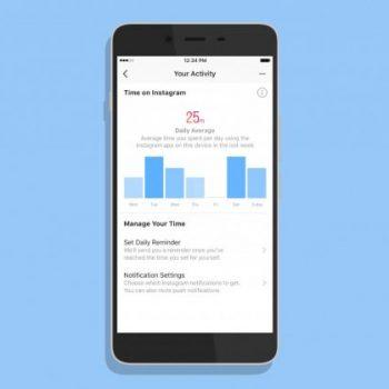 Aplikacioni Instagram ka një hapësirë të re e cila ju tregon kohën e shpenzuar në aplikacion