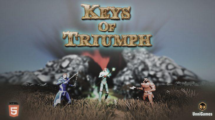 """UnniGames lajmëron publikimin e versionit beta të lojës së tyre""""Keys of Triumph"""""""