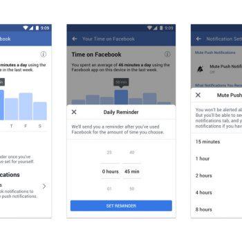 Pas Instagram, Facebook gjithashtu ju tregon sa kohë keni shpenzuar në aplikacion