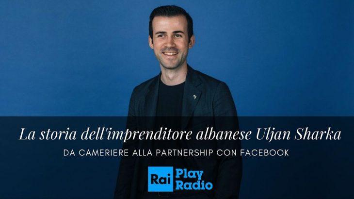 Televizioni Italian RAI: Nga kamarier në partneritet me Facebook, kjo është historia e Shqiptarit Uljan Sharka