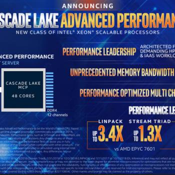 Intel prezantoi dy procesorë të rinj Xeon ku njëri ka 48 bërthama dhe 12 kanale memorie