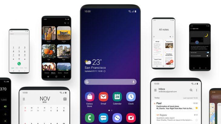 Samsung prezanton pamjen e re të Android e cila vjen për herë të parë me Galaxy S10