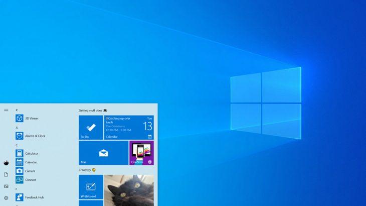 Windows 10 vjen me një temë të bardhë