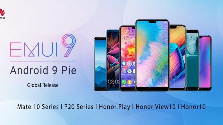 Huawei publikoi Android 9 Pie për 10 modele telefonësh