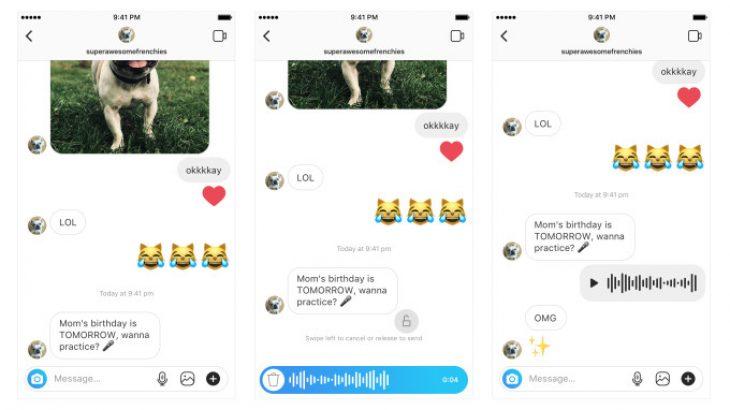 Instagram, tani mund të dërgoni mesazhe zanore në mesazhet direkte