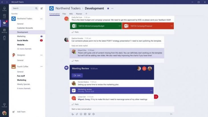 Microsoft Teams po rritet me shpejtësi