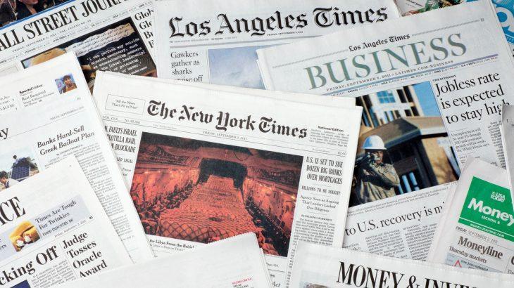 Sulm kibernetik ndaj gazetave Amerikane