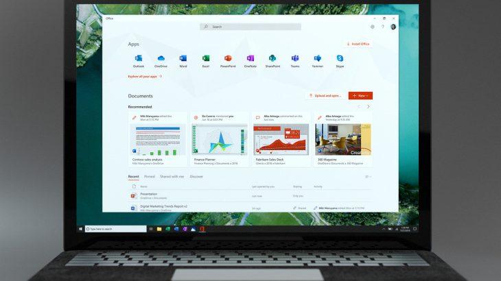 Microsoft sjell një aplikacion Office për Windows 10, një hub për çdo version të suitës Office