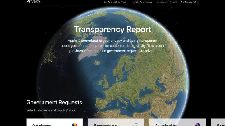 Apple publikon raportin e transparencës, Gjermania më numrin më të lartë të kërkesave për informacion
