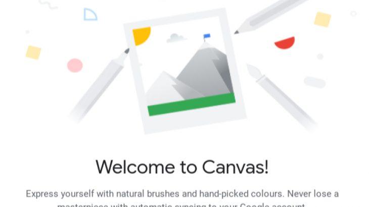 Google Canvas është një aplikacion vizatimi dhe shënimesh