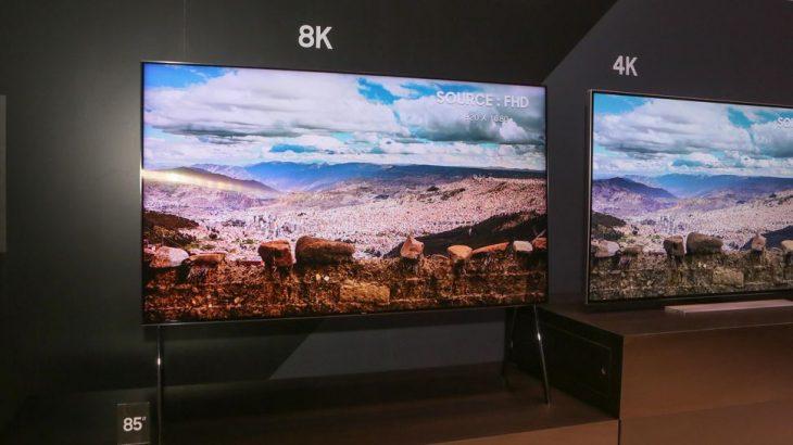 Televizorët 8K do të bëhen më mirë falë Samsung