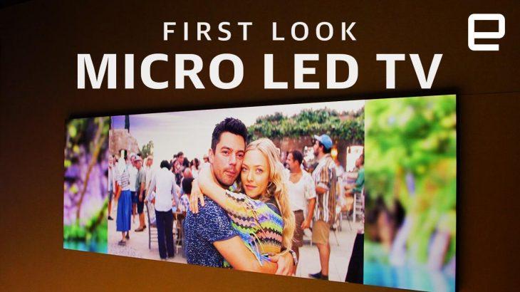 Samsung prezanton televizorin e së ardhmes MicroLED