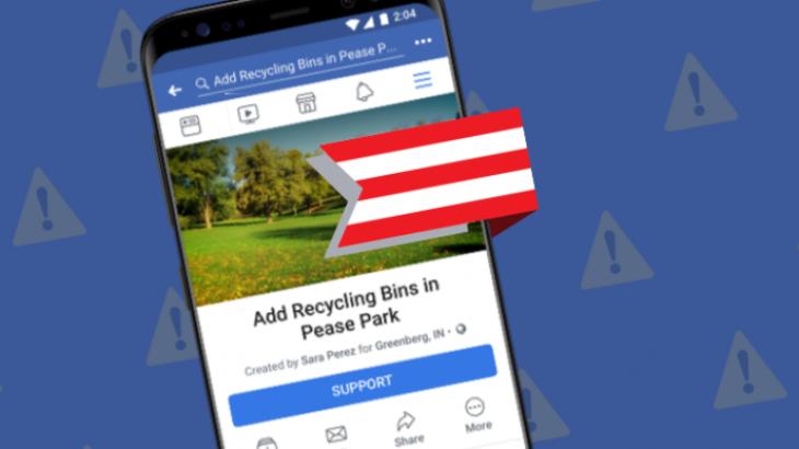 Funksioni i ri i Facebook në mbështetje të kauzave dhe komuniteteve