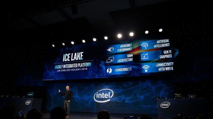 Intel prezantoi procesorët 10nm Ice Lake