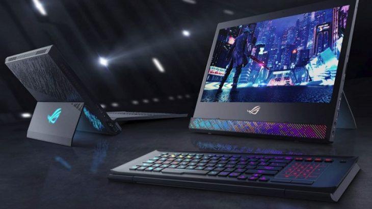 Laptop i ASUS që ngjan me një desktop