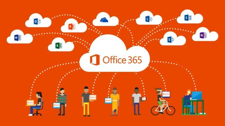 Office 365 jashtë shërbimi në Evropë