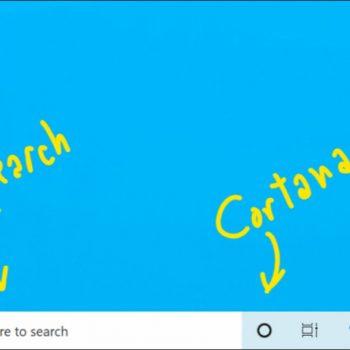 Cortana dhe funksioni i kërkimit do të jenë veçmas në Windows 10