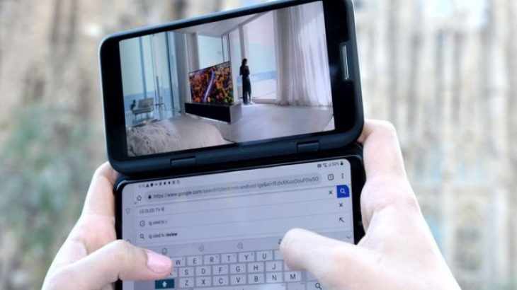 Përgjigja e LG ndaj telefonëve me ekran që palosen është një ekran dytësor