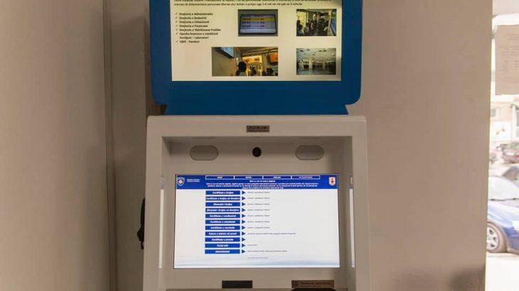 Instalohet e-Kiosku i katërt në Prishtinë