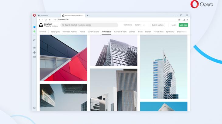Opera në desktop vjen me dizajn të ri dhe portofolin e kriptomonedhave