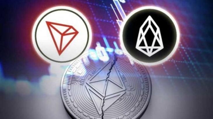 Pse EOS dhe TRON janë më popullorë sesa Ethereum në aplikacionet e decentralizuara