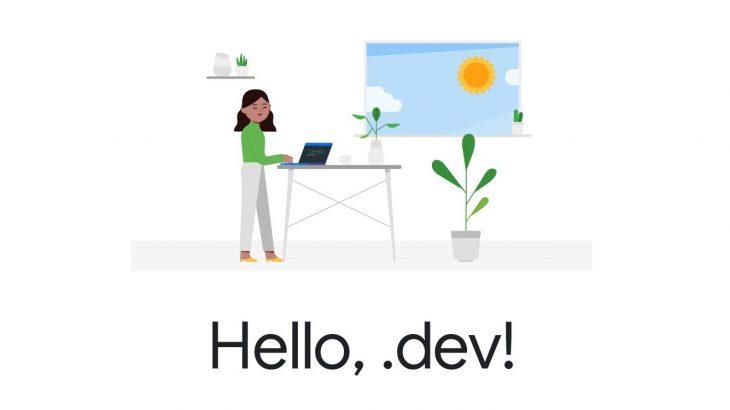 Nga sot të gjithë zhvilluesit mund të regjistrojnë sajtet personale dhe projektet me domainin .dev