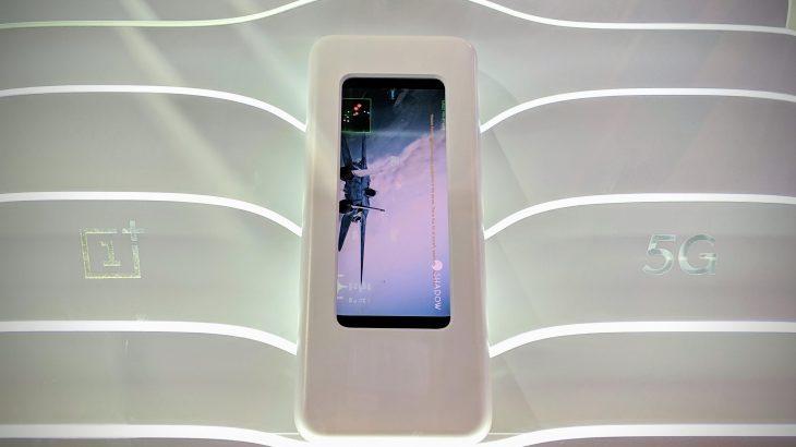 OnePlus ngelet pas në garën e 5G, prezanton një prototip